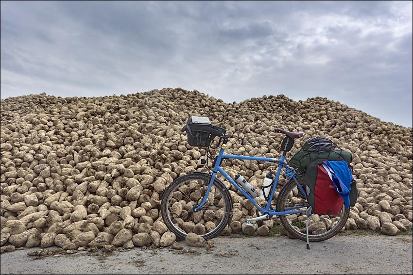 frankrijk fiets stokbrood